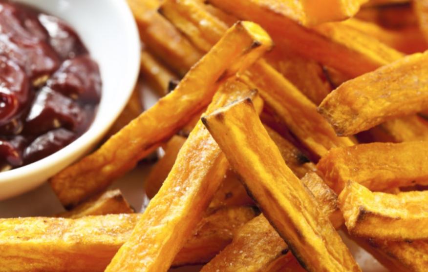 Fırında Tatlı Patates Kızartması